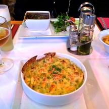 Pasta and Stew in Belgium